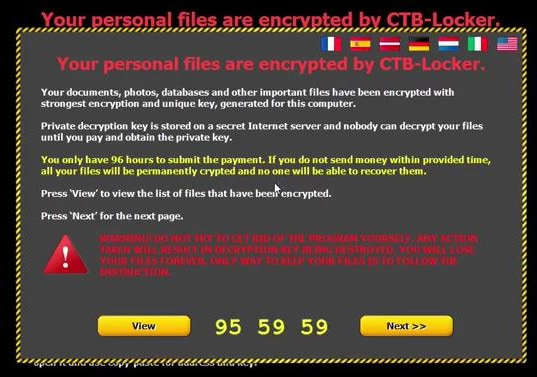 CBT-Locker Virus