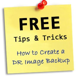 How to Create an Image Backup