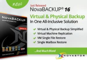 NovaBACKUP 16 Just Released
