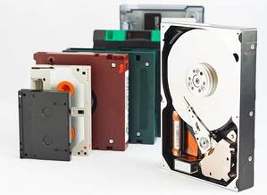 Tape and Disk Storage for Backup Software