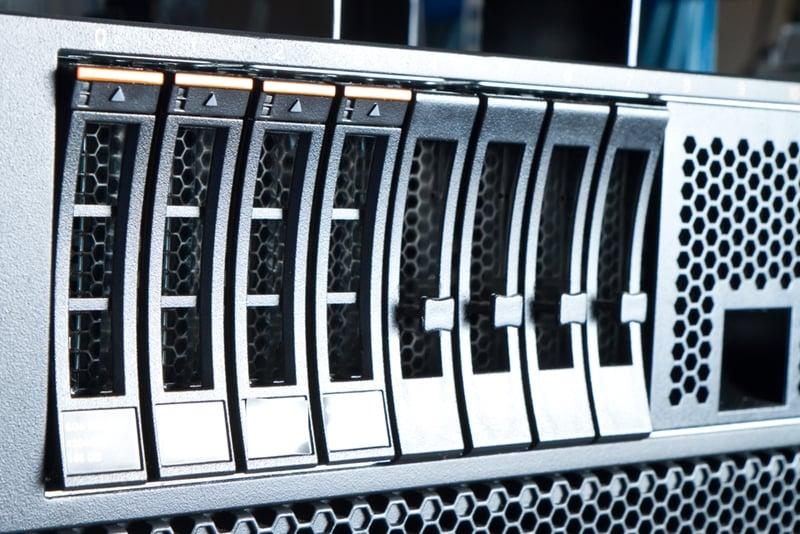 RAID writes data across multiple disks to provide redundancy.
