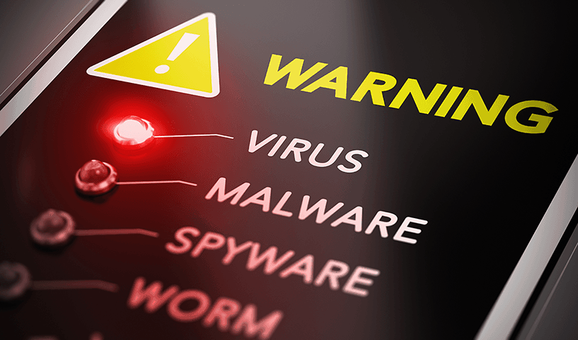 Don't let hackers steal your information using a virus attack.