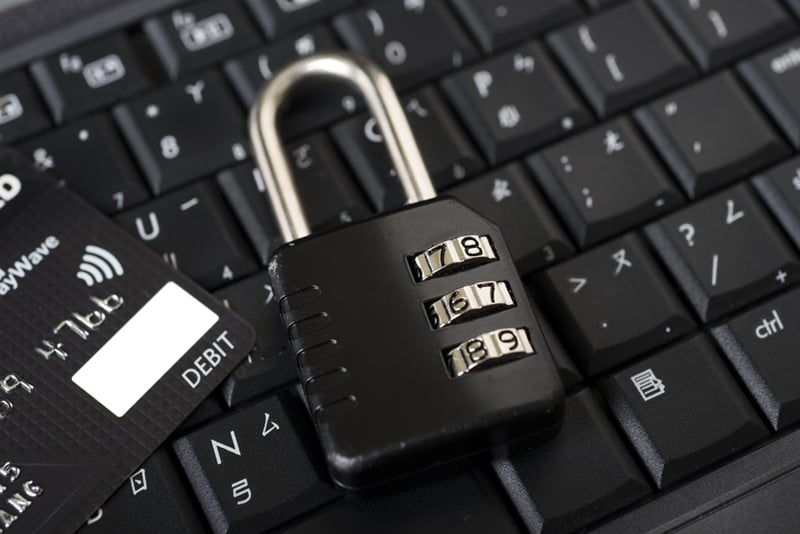 Encryption acts as a lock on your sensitive data like credit card information.