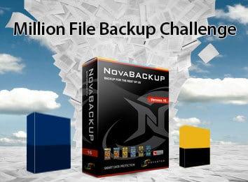 1,000,000 Small File Backup Challenge