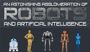 An Astonishing Agglomeration of Robots and Artificial Intelligence