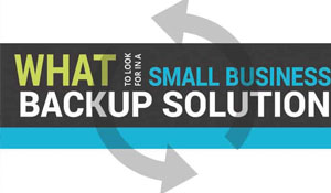 Small Business Backup Infographic
