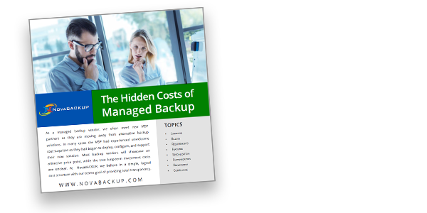 Hidden Costs of Managed Backup