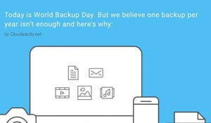 World Backup Day Infographic